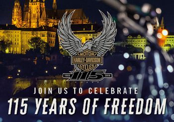 Harley-Davidson отметит юбилей в Праге