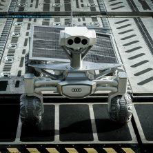 Audi. Направление на Луну