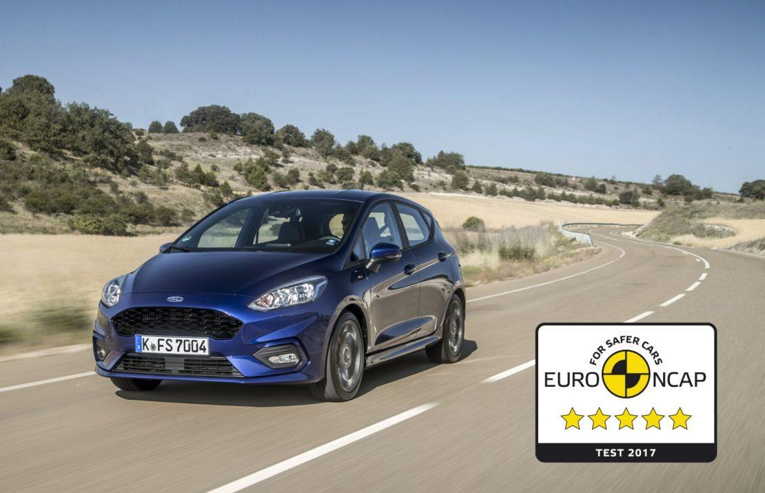 Ford Fiesta. 5 наград за безопасность