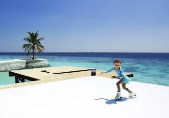 #открытие_года. Лед на Мальдивах