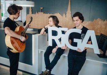 #музыка. Поющие посланцы Риги