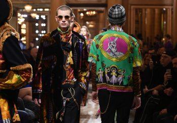 #fashion. Мужская коллекция VERSACE FW18