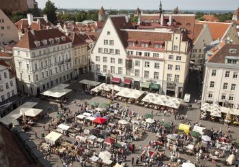 Фестиваль еды в Таллинне