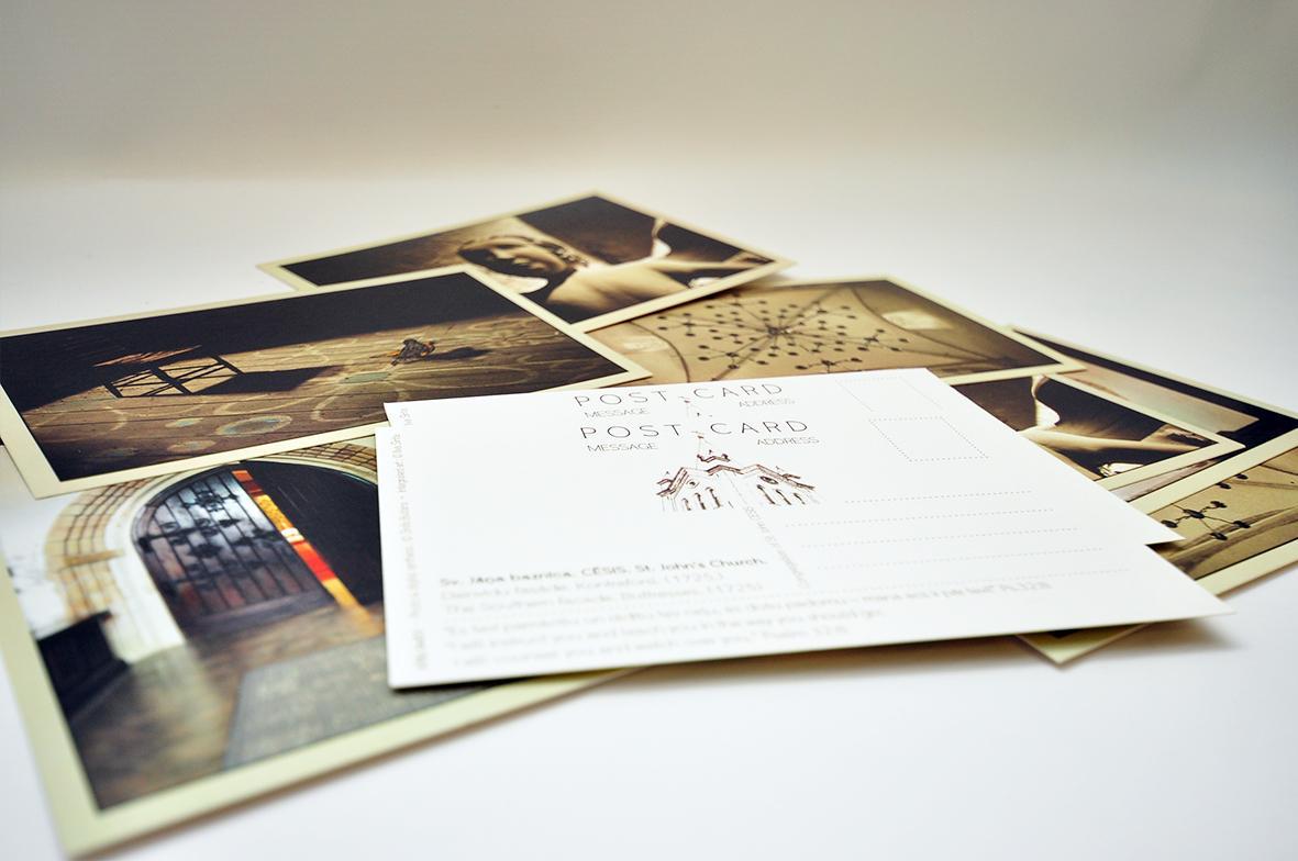 Днем, открытка на заказ со своим дизайном