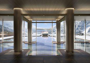 Завершается строительство нового курорта в Италии Lefay Resort & SPA Dolomiti,