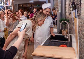 Villeroy & Boch продемонстрировал новую коллекцию раковин любителям пиццы