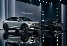 Audi представил две новые модели — Audi Q4 e-tron и Q4 Sportback e-tron