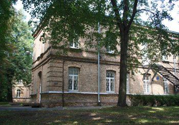 Старейшее в Прибалтике психиатрическое лечебное учреждение