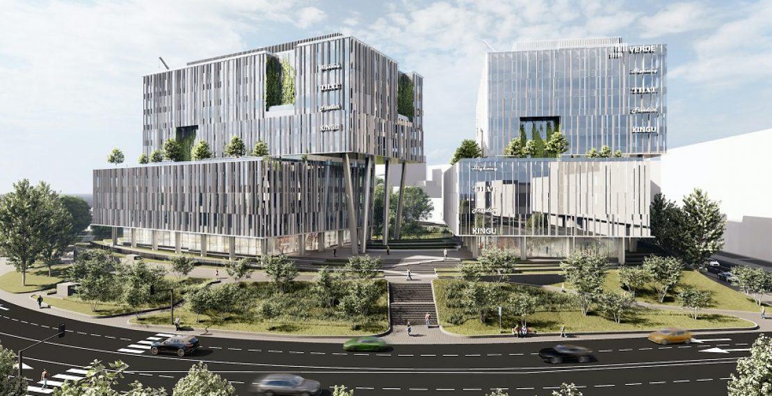 Самые зеленые офисы VERDE станут единственным построенным новым офисным комплексом класса А в Риге