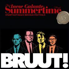 Самый стильный квартет из Нидерландов BRUUT! На фестивале Summertime