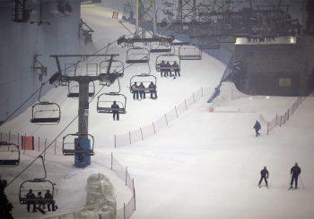 Самые необычные места для занятий зимними видами спорта