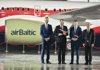 airBaltic преподнес Латвии подарок к ее столетию