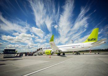airBaltic возобновляет полеты из Риги в Амстердам, Гамбург, Вену и Дюссельдорф