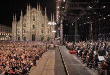 Кинотеатр Splendid Palace впервые предлагает просмотр концертной записи с Кафедральной площади Милана