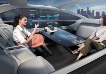 Volvo 360c беспилотник будущего