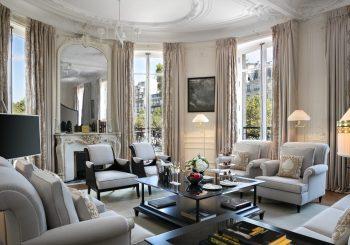 Hôtel Barrière Le Fouquet's Paris представляет новые сьюты с видом  на Елисейские поля