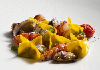 Рецепт пасты с рагу из морепродуктов из спа-меню отеля Lefay Resort & SPA Lago di Garda
