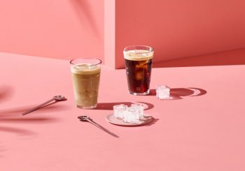 Кофе, влюбленный в лед