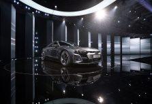 Audi представил свою флагманскую модель e-tron GT