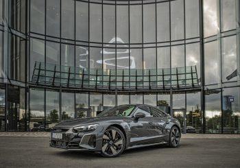 Audi e-tron GT теперь и в Латвии
