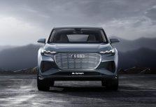 Audi Q4 e-tron: в Женеве представлен концепт нового электромобиля