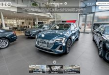 Volkswagen и Audi приглашают клиентов в латвийский онлайн-салон