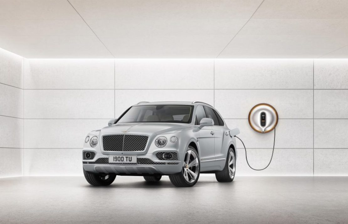 #авто. Bentley Bentayga — революционный гибрид