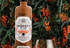 В Латвии произведен уникальный джин – облепиховый Cross Keys Gin