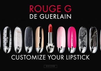 Guerlain предлагает самому создать дизайн своей помады