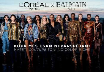 #коллаборация. L'ORÉAL PARIS X BALMAIN PARIS = COLOR RICHE