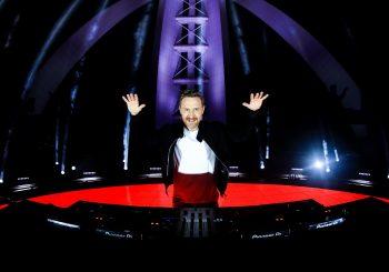 Дэвид Гетта проведет прямую трансляцию своего выступления из Дубая