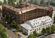 В историческом центре Риги появится жилой квартал Lofts&Rosegold