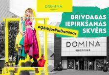 Сегодня у возле торгового центра Domina Shopping стартовала уличная торговля