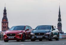 Jaguar I-Pace, который будет запущен в производство в августе, можно увидеть в Риге уже сегодня