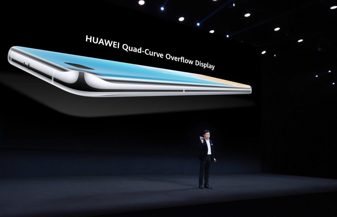 Huawei представил революционные флагманы серии P40