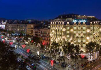 MAJESTIC HOTEL & SPA BARCELONA: благотворительный ужин с фондом Жоана Миро