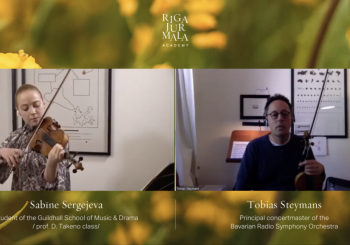 Академия Rīga Jūrmala в списке наиболее значительных музыкальных онлайн-мероприятий