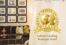 Grand Palace Hotel снова признан лучшим в своей категории