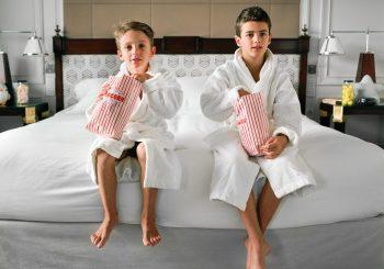 На мадридской Villa Magna у детей особый статус