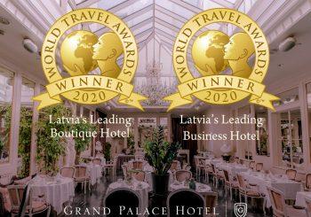 Grand Palace Hotel выиграл две престижные награды