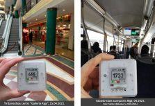 Результаты замеров подтверждают, что торговые центры являются безопасным с эпидемиологической точки зрения местом шопинга