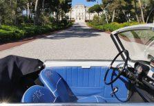Ретро-автомобиль Autobianchi Bianchina в Hotel du Cap-Eden-Roc