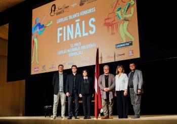 Финал VII конкурса «Таланты Инессы Галанте» пройдет в Латвийской национальной библиотеке