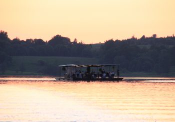Латвия. Изысканный ужин на озере или  Dinner on the lake