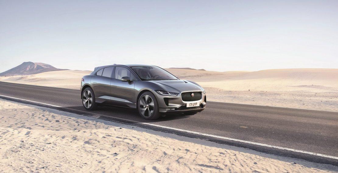 Электромобили Jaguar I-Pace скоро прибудут в Ригу