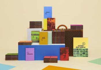 Книжный pop-up бутик Louis Vuitton в отеле Brach Paris