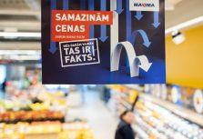 Maxima инвестирует 7,2 млн евро в снижение цен