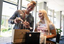 Для латвийских олимпийцев создан особый комплект натуральной косметики