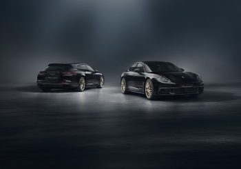 Специальная модель к юбилею: Porsche Panamera «10 Years Edition»