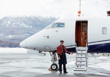 Углеродно-нейтральный джет отеля Badrutt's Palace отправляется в свой первый полет